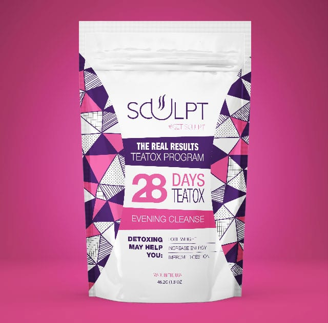sculpt tea
